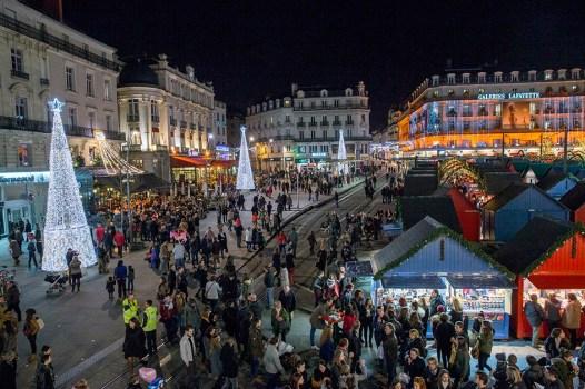 Marché de Noël Angers 2015 - Jeux de lumières