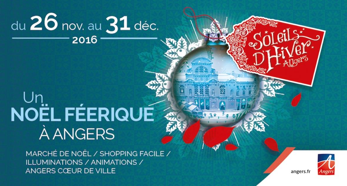 Marché de Noël Angers 2016