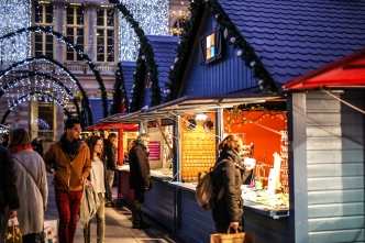 C'est le début des achats de Noël sur Angers